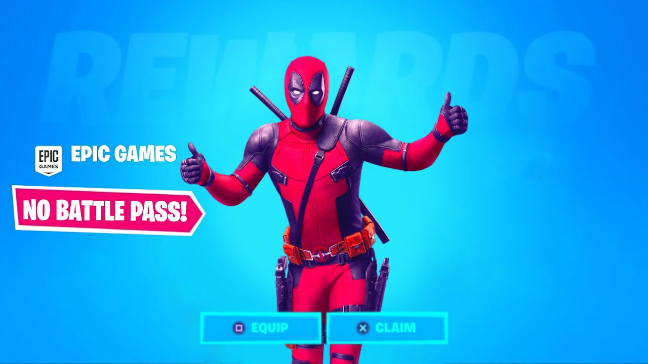 How To Get The Deadpool Skin Without Battle Pass